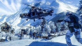 Battlefield Bad Company 2 - Multiplayer Rush Raw gameplay (PC 4K/60)