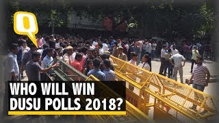 DUSU Elections: On Voting Day, an Underlying Mistrust Among Some | The Quint