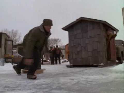 Grumpy old men fence stand off the great ice war youtube for Grumpy s fishing report