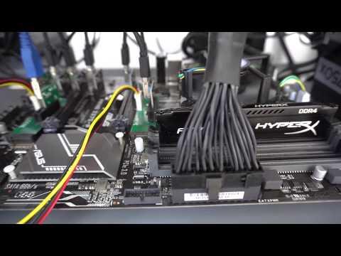 How to build a 8 x NVIDIA GTX 1080 TI Strix - zCash Mining rig