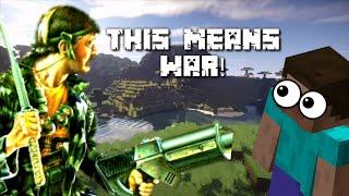 War In Minecraft ! - Minecraft PlayStation 4