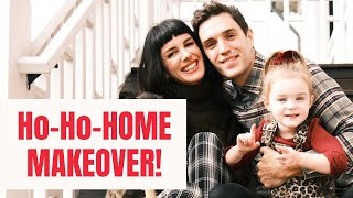 New Home Makeover Reveal + Decorate For Christmas With Us!!!   Shenae Grimes Beech