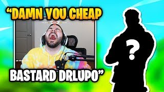 Courage Could NOT BELIEVE DrLupo Gifted Him THIS SKIN | Fortnite Daily Funny Moments Ep.323