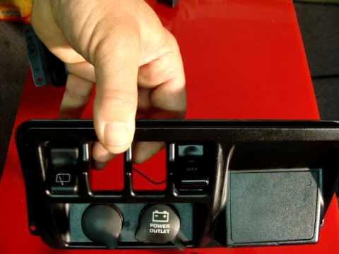 Jeep Wrangler Rocker Switch Installation New