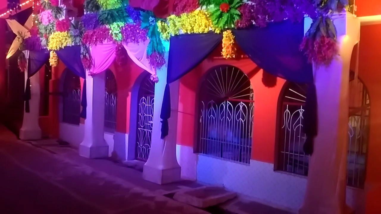Mona tent Light chaitra Navratri decoration katni & Mona tent Light chaitra Navratri decoration katni - YouTube
