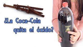 ¿La Coca Cola quita el óxido? Mito desvelado (Experimentos Caseros)