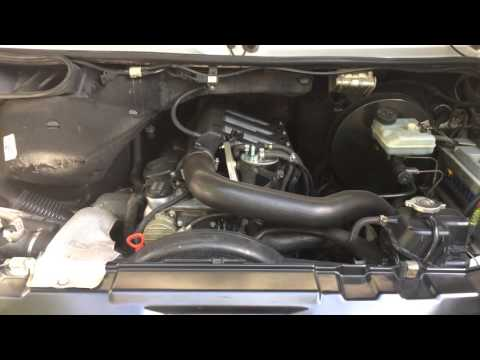 Вибрация двигателя Mercedes Sprinter 2.2 CDI