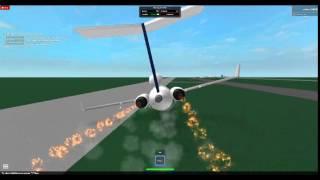 B727 crash roblox