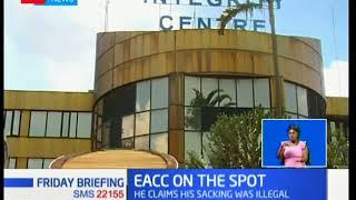 Former EACC employee sues CEO Waqo