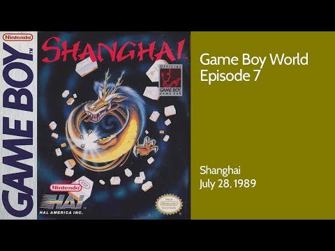 Game Boy World #007: Shanghai (Activision/HAL, 1989)