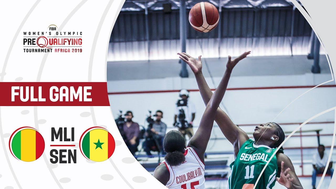 Mali v Senegal - Full Game - FIBA Women's Olympic Pre