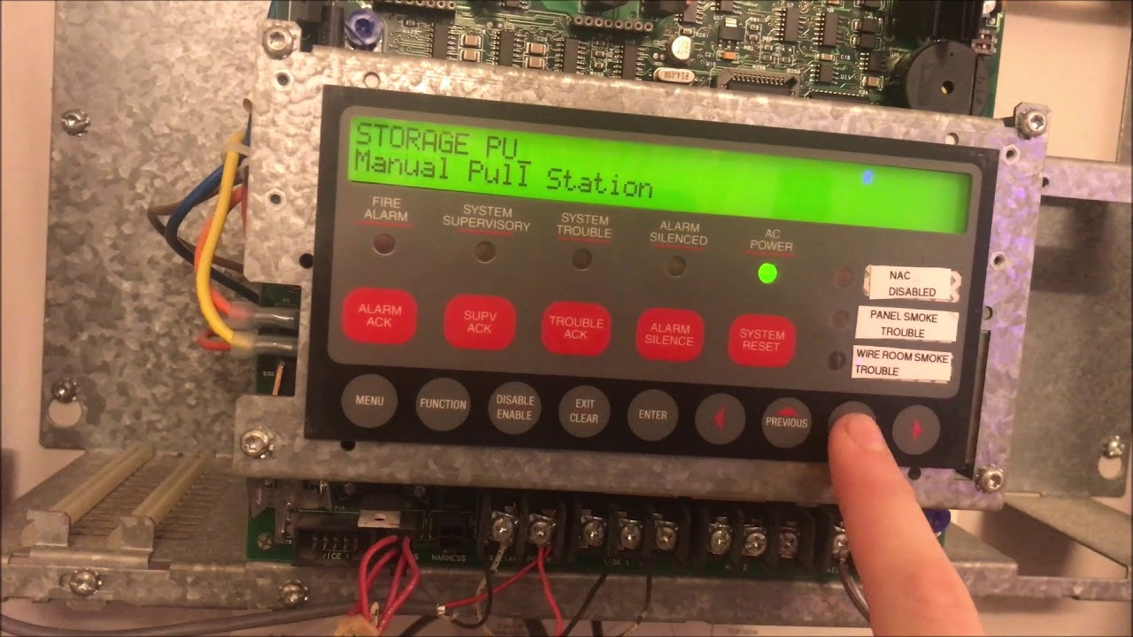 Creating an IDNet Label on a Simplex 4010 Fire Alarm Control Panel