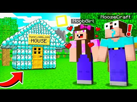 HOW TO PLAY AS NOOB in MINECRAFT!