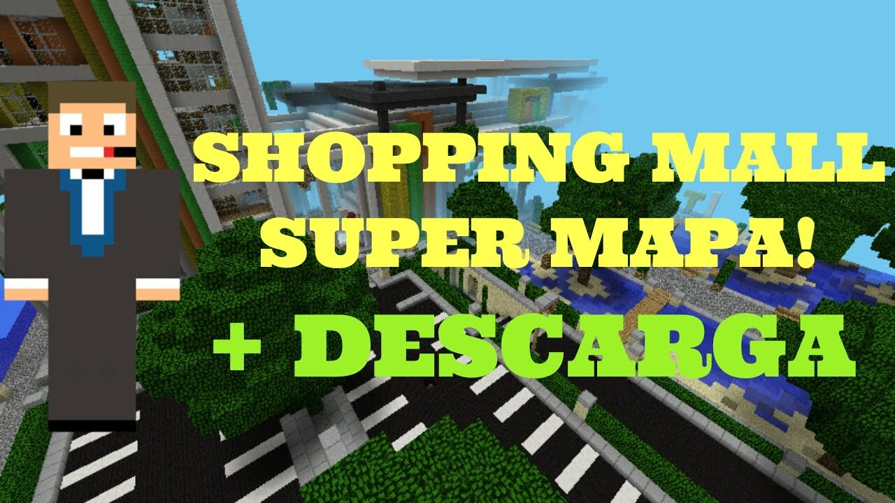 Minecraft Pe Mall Map Download