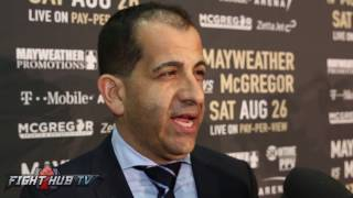 Stephen Espinoza thought about putting MMA vs. Boxing fights on undercard