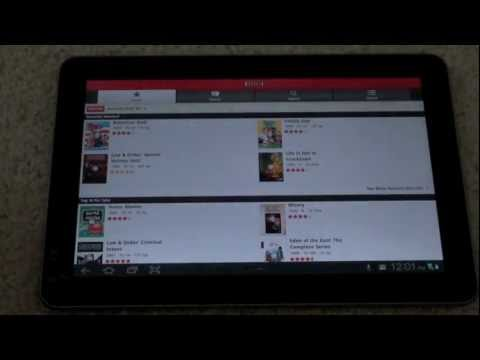 How To Get Netflix On A Galaxy Tab 10.1 Or Android Tablet