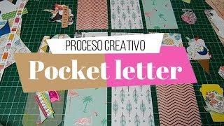 Como hacer una Pocket Letter? | Proceso creativo | Yoltzin handmade