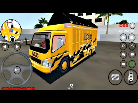 IDBS Indonesia Truck Simulator Update - New SPECIAL EDITION Truck Added Android GamePlay FHD