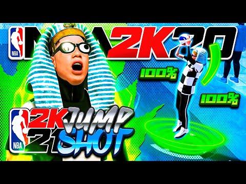 I USED MY NBA2K21 JUMPSHOT ON NBA2K20 and it was pretty good |