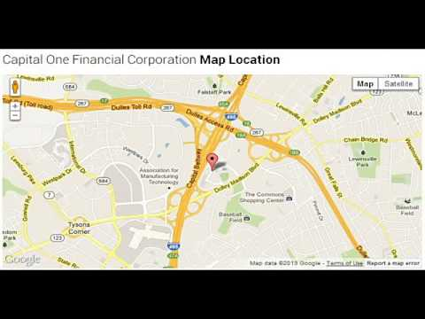 Capital One Financial Corporate Office Contact Information