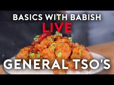General Tso's Chicken | Basics with Babish Live