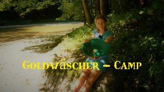 Goldwäschercamp - Werde ich Gold finden? Übernachtung am Fluß - Vanessa Blank 4K