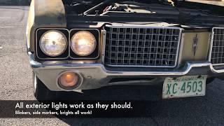 1972 Oldsmobile Vista Cruiser Walkaround and Test Drive