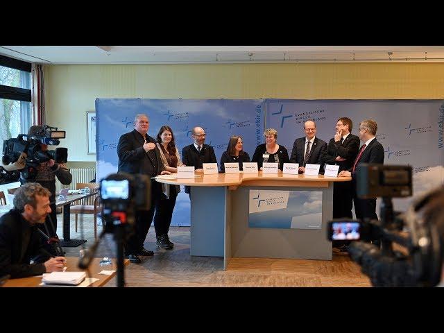 Landessynode: Abschluss-Pressekonferenz, 11. Januar 2019