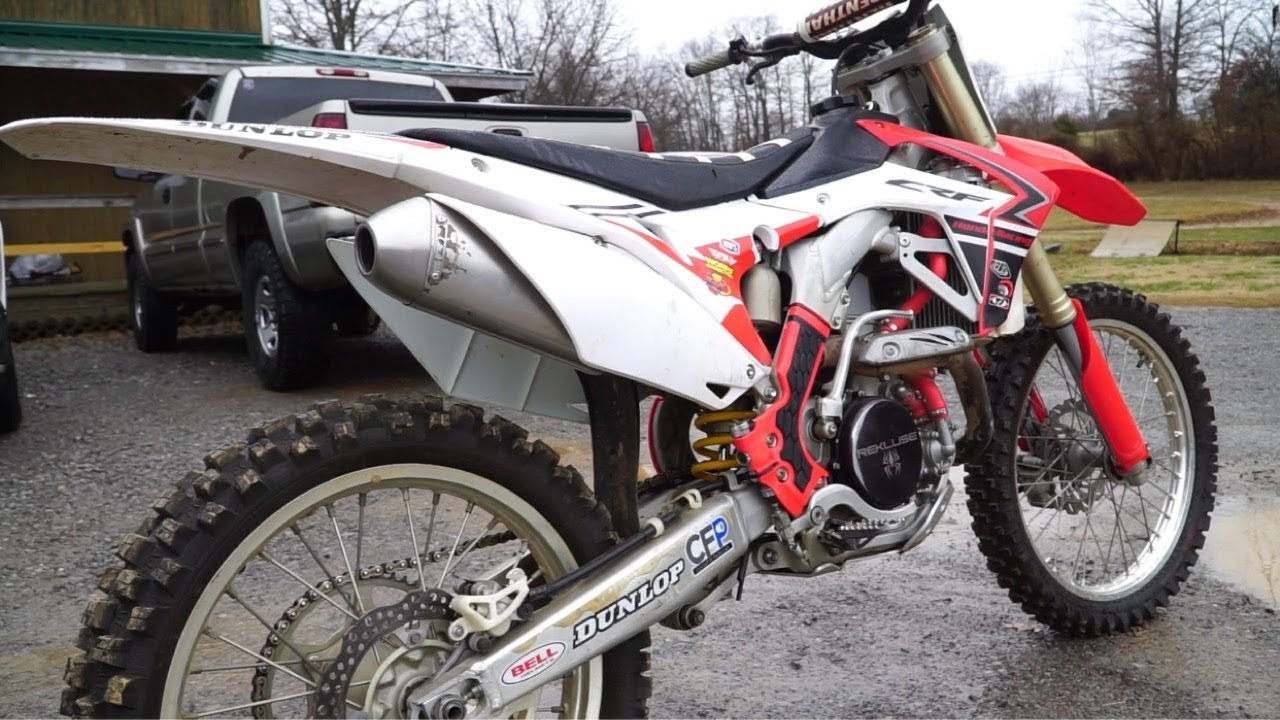 NO MORE DUAL EXHAUST! | Single FMF Powercore4 CRF450R