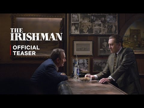 "Steinmann - Martin Scorsese's ""The Irishman"" Trailer Has Dropped"
