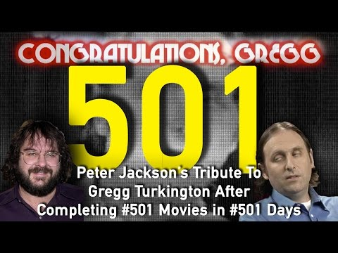 Peter Jackson's (Updated) Tribute To Gregg Turkington (501 Movies in 501 Days)