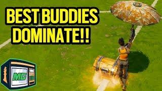 3 Duo Team Wins Back To Back!! - Fortnite Battle Royale