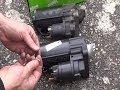 Cambio de motor de arranque - Extracción  Reposición paso a paso