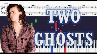 Harry Styles - Two Ghosts - Piano Tutorial w/ Sheets