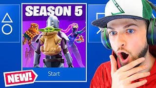 *NEW* SEASON 5 LEAKED in Fortnite! (BATTLEPASS SKINS)