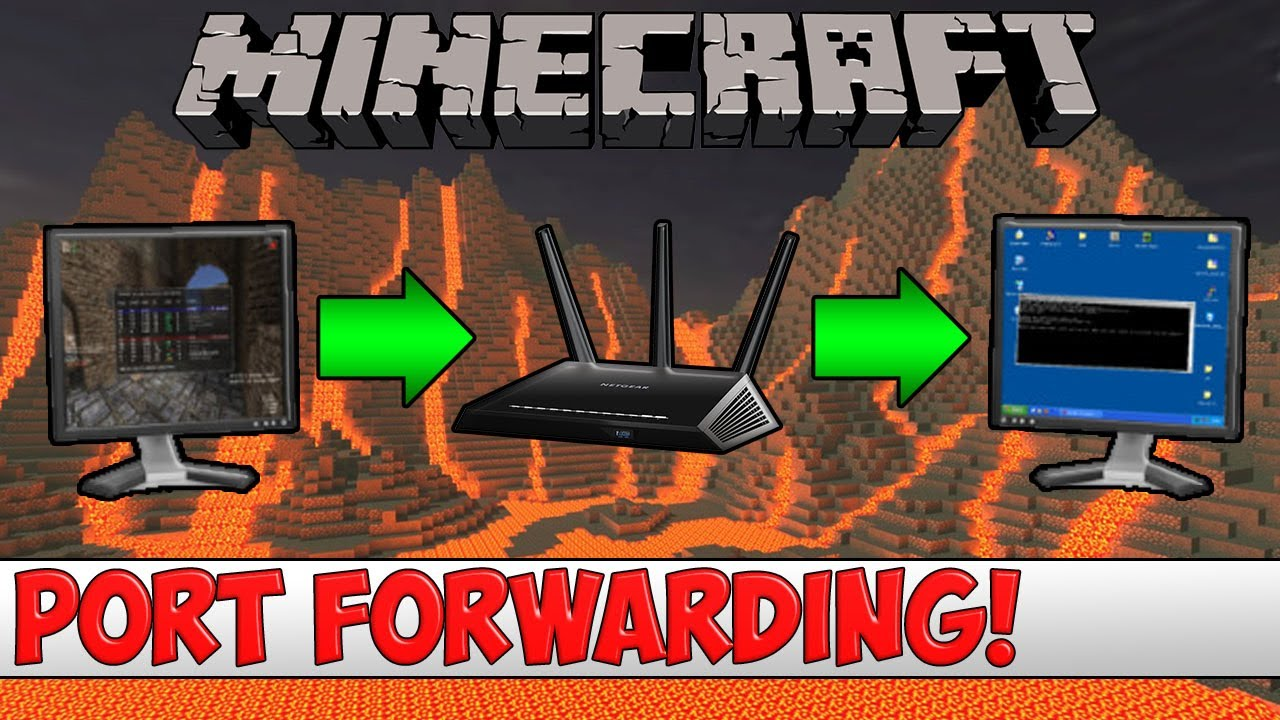 How to Port Forward your Router for a Minecraft Server