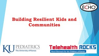 Telehealth ROCKS - Keeping Kids Safe ECHO Session 3