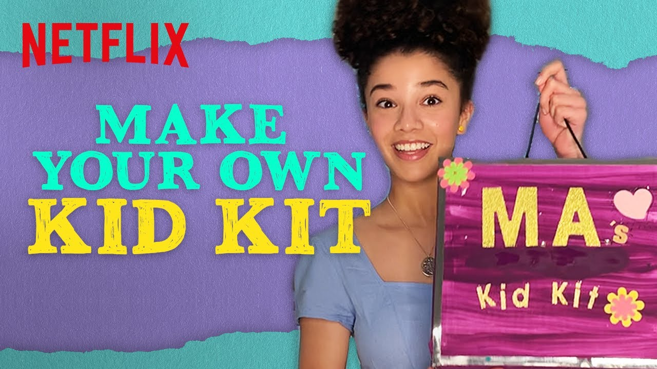 Arts & Crafty: Make Your Own Kid Kit Challenge 😎 The Baby-Sitters Club | Netflix Futures