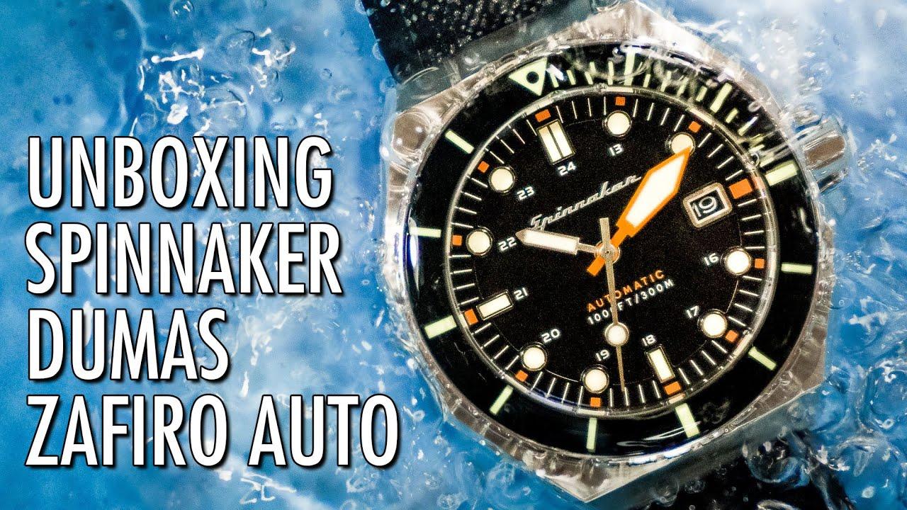 052addf3b3b7 Unboxing Spinnaker Dumas Automatico SP-5070 Reloj De Buceo Vintage en  Español