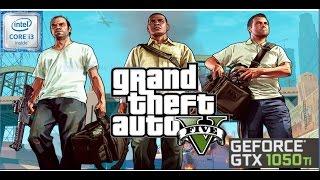 Grand Theft Auto V - Intel Core i3-6098P - 8GB RAM - GTX 1050 Ti - 1080p -ultra settings