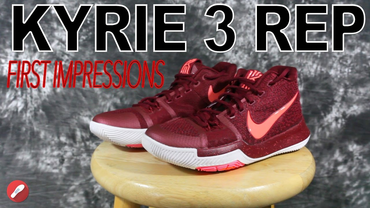 60b2b788171 ... switzerland nike kyrie 3 replica first look impressions youtube aaf7a  9c2f8