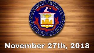 Bridgewater Town Council - Nov. 27th