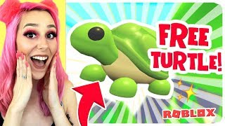 How to Get The *NEW* LEGENDARY TURTLE FOR FREE!! Adopt Me Aussie Egg Update! (Roblox)