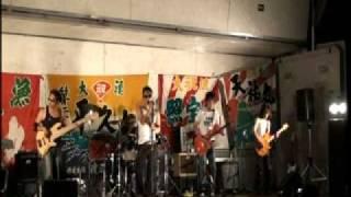 2010/7/4(sun) 小樽高島祭でのLIVEの模様.