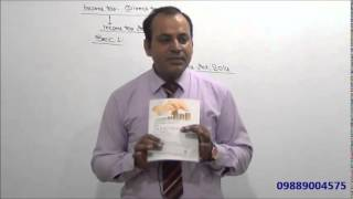Income Tax : AY 15-16 : Introduction : Lecture 1