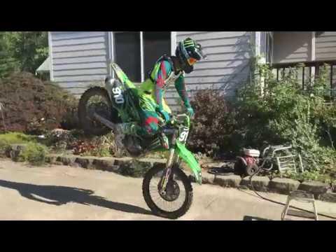 Carson Brown Keeping It Fun with Wheelies