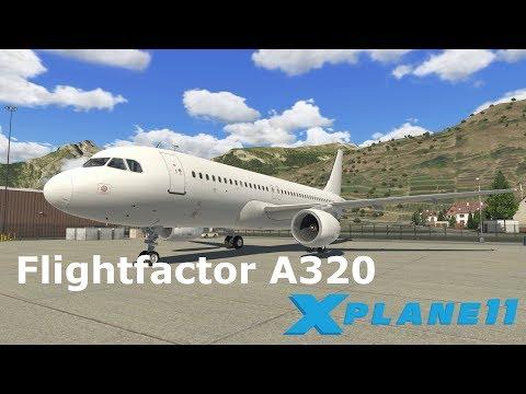 X Plane 11 | Flightfactor A320 | Zürich (LSZH) - Sion (LSGS)
