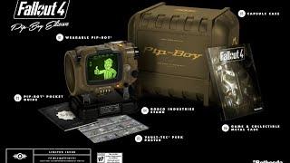 Fallout 4 - распаковка коллекционного издания - Pip-Boy Edition