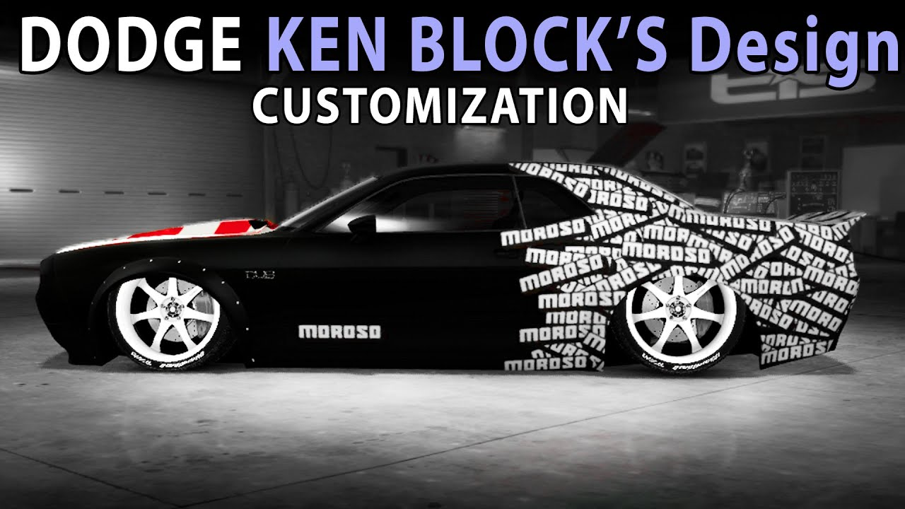 Midnight Club La Dodge Challenger Ken Block S Design