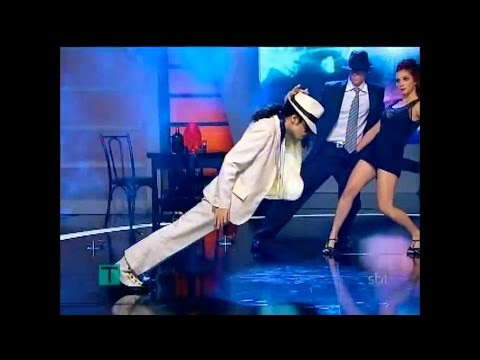 The best ''THE LEAN'' in tribute to MJ on TV - by RICARDO WALKER (The Walkers)